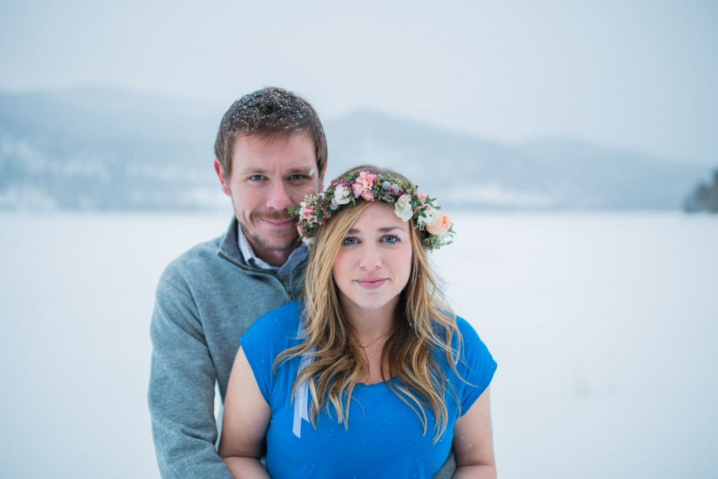 Lake Dillon couple photography