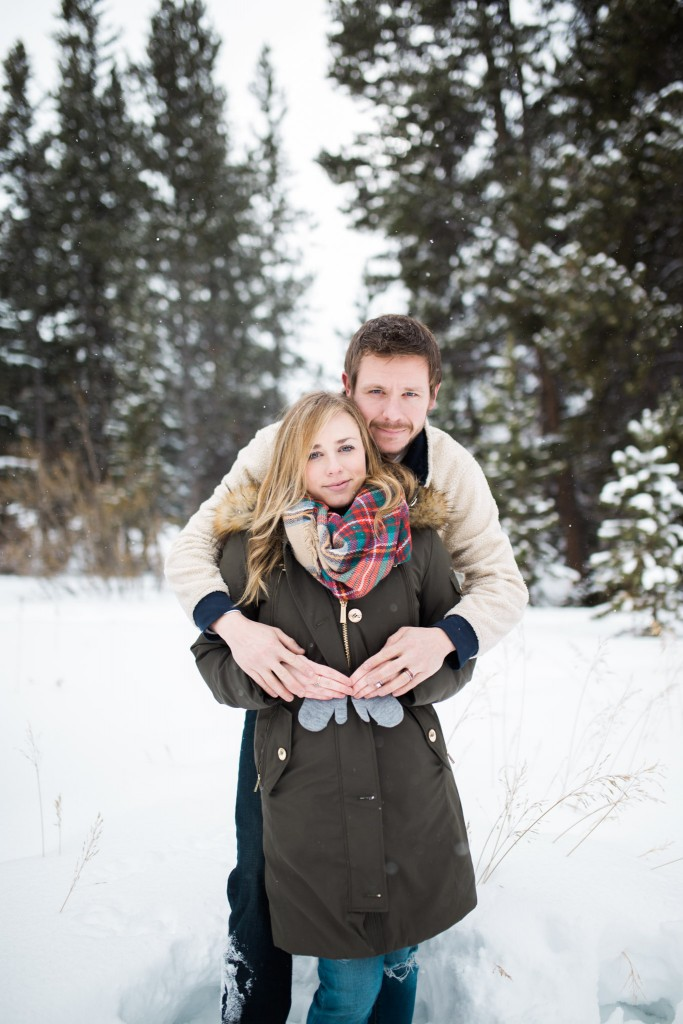 Beautiful Breckenridge maternity photos