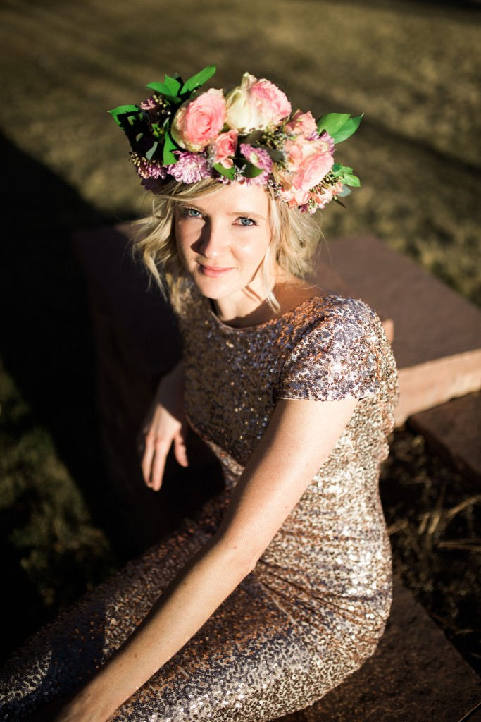Floral head piece in Littleton Colorado