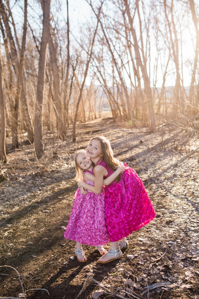 Family session at Chatfield State Park