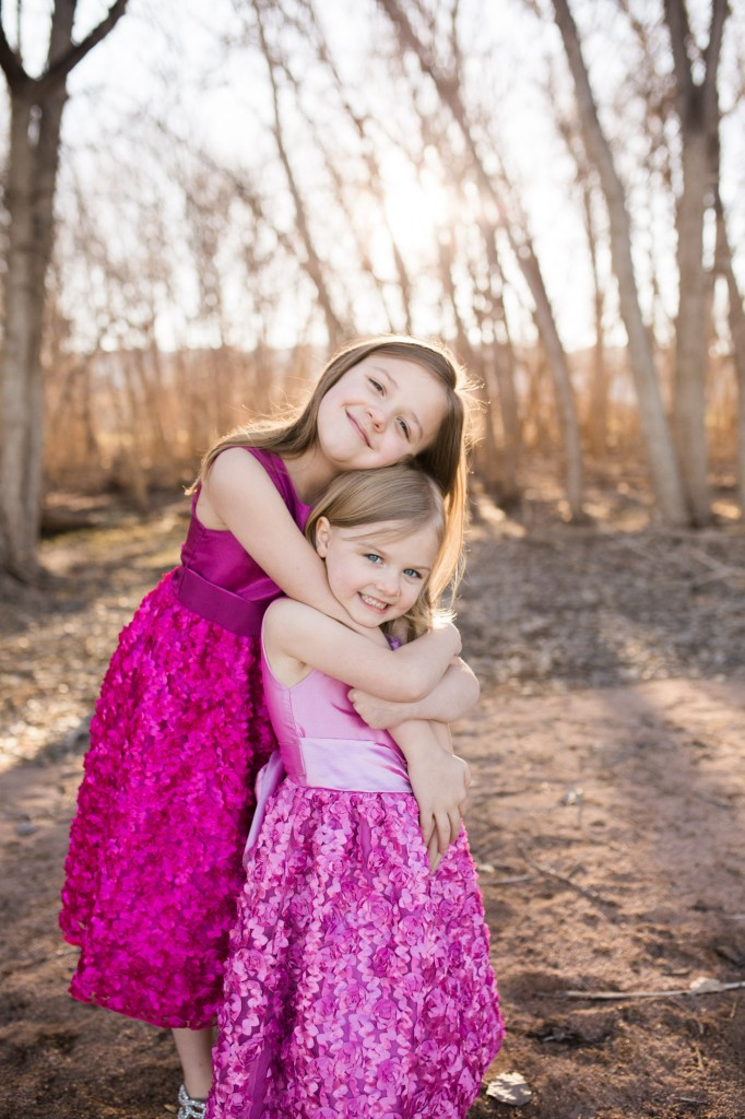 Sister photo session in Littleton