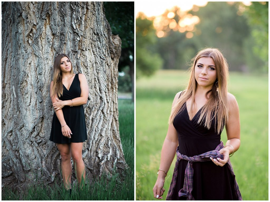 Senior photo session in Littleton Colorado
